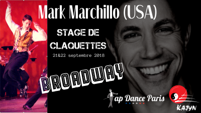 Mark Marchillo - Stage claquettes Paris